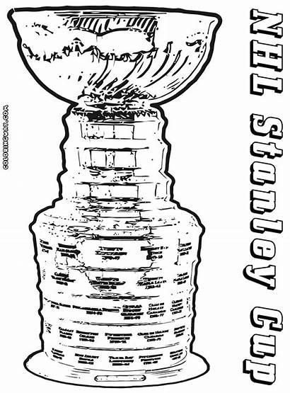 Cup Coloring Winner Stanley Nhl