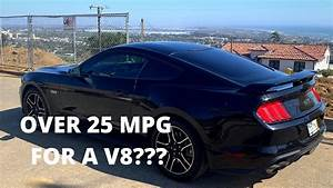 How many MPG does a 2018 FORD MUSTANG GT AVERAGE?? *DAILY DRIVER* - YouTube