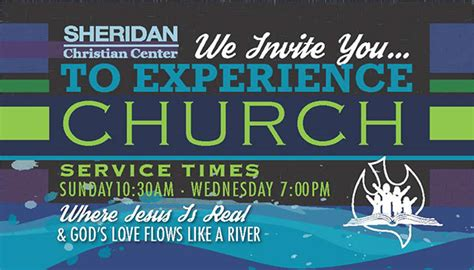 church invitation business card size  behance