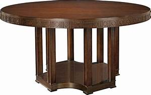 The Arden dining table round, Hickory Chair