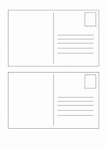 40 great postcard templates designs word pdf With postcards templates for word