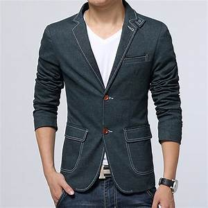 Mens Casual Blazers To Wear With Jeans - Baggage Clothing