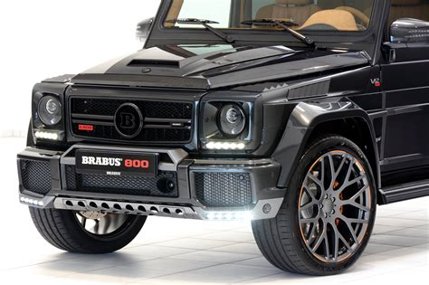 Brabus 800 Is A Mercedes-amg G65 With More Oomph
