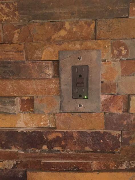ledger backsplash california gold rush slate ledger stone backsplash slate switch plate from switchhits com