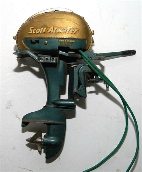 Outboard Boat Motors Ebay by Vintage Scott Atwater Miniature Toy Outboard Boat Motor