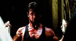 Sylvester Stallone Muscles GIF by Rocky - Find & Share on ...