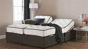 mattress split king adjustable bed frame with nightstand With furniture and mattress for you