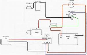 6 Best Images Of 6 Volt Charging System Wiring Diagram