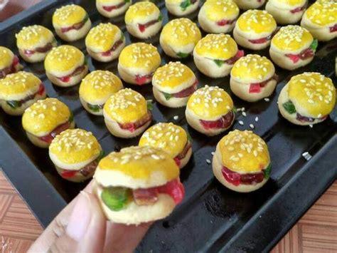 resep nastar burger anti gagal hasilnya lembut  lumer