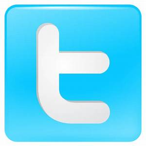 Twitter Button Icon - Free Large Twitter Icons - SoftIcons.com