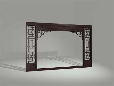 vintage decorative partition door  model dsmax files