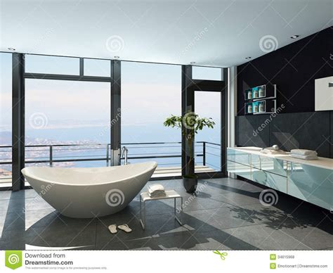 towel designs for the bathroom ultramodern contemporary design bathroom interior with sea