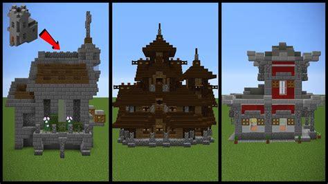 minecraft village church transformation ideas youtube