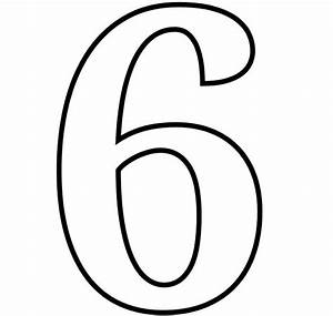 Number 6 Coloring Page GetColoringPages