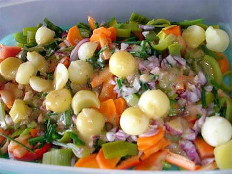 cuisine verte pomme recette de salade composée par rosinette