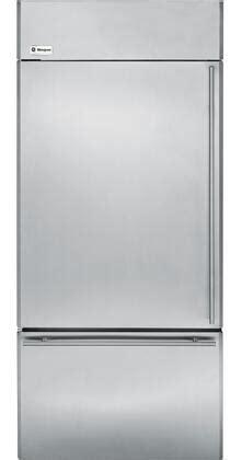 ge monogram zicsnxlh   monogram series counter depth bottom freezer refrigerator