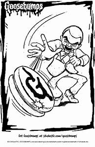 goosebumps coloring pages - slappy