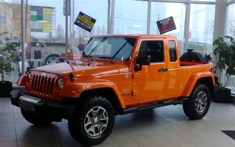 jeep truck 2018 2018 jeep truck review design features engine release