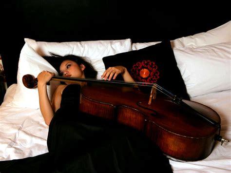 wallpaper women asian guitar musical instrument in bed guitarist cello tina guo viola