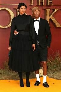 Pharrell Williams And Wife Helen Lasichanh Attend European
