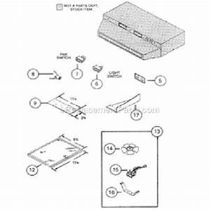 Nutone Ll6300 Parts List And Diagram   Ereplacementparts Com