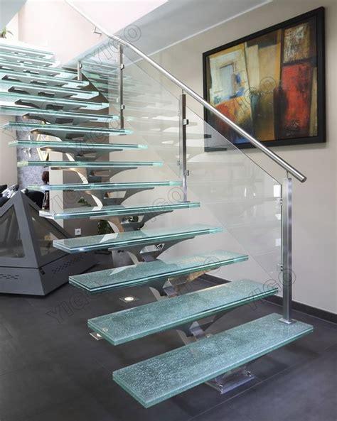 escalier de verre prix utilis 233 escaliers m 233 talliques int 233 rieure verre escaliers made in