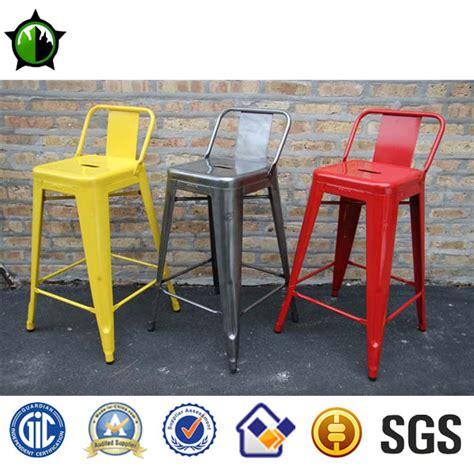 tolix marais low back tabouret de bar chaise haute chaise