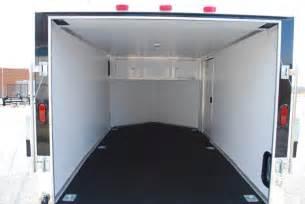 v nose enclosed trailer cabinets kit4en com