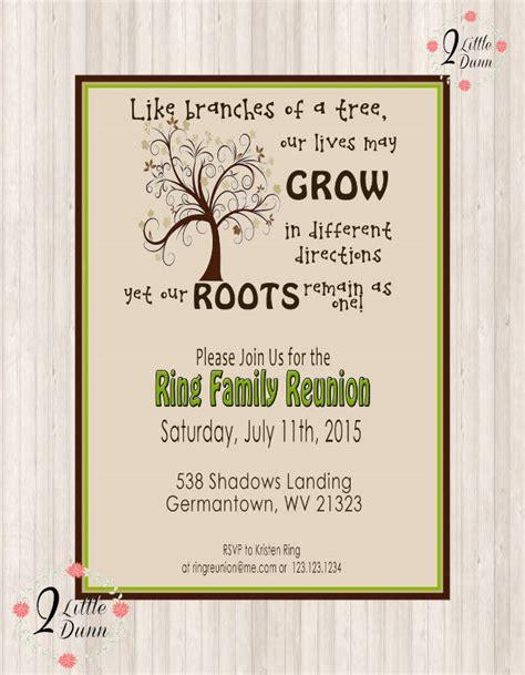 family reunion invitation designs psd ai design