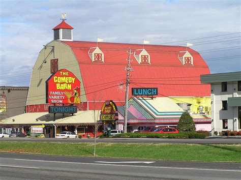 the comedy barn flip out the comedy barn theater pigeon forge tn