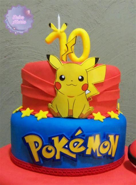 tortas de cumpleanos infantil pokemon  porciones