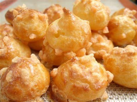 les pates a choux chouquettes au sucre noisette