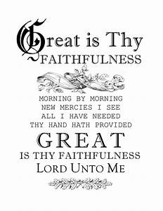 Hymn of the Year - Great is Thy Faithfulness - Hymns and