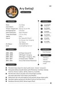 Contoh Resume Nhs by Contoh Curriculum Vitae Cv Application Letter Hankook Tire