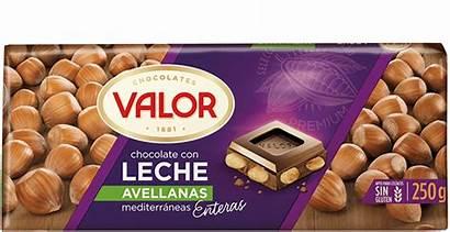 Leche Chocolate Avellanas Valor Productos
