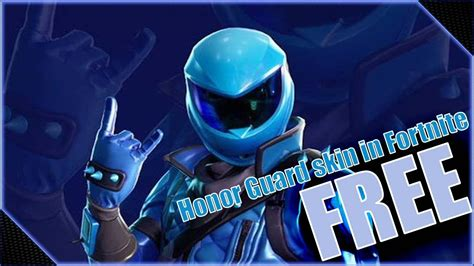 honor guard skin code youtube