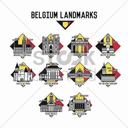 Belgium Landmarks Stockunlimited