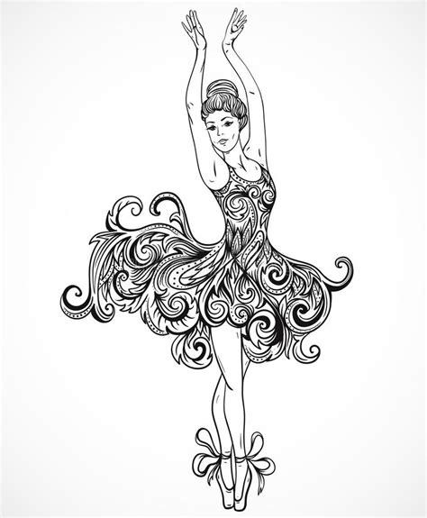 dress ballerina ballerina with floral ornament dress vintage black and