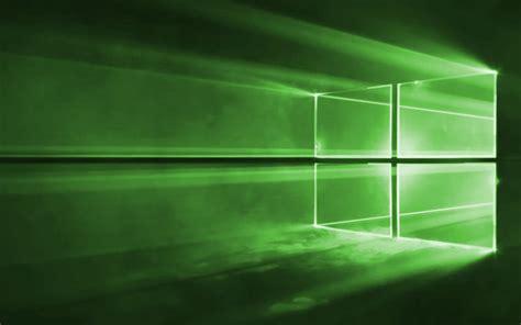 Windows 1.0 Default Desktop Wallpaper Green