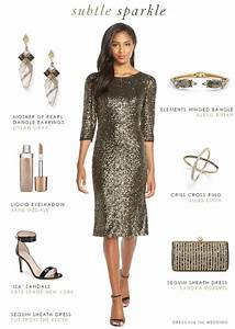 long sleeve sequin cocktail dress semi formal wedding With sequin dress for wedding guest
