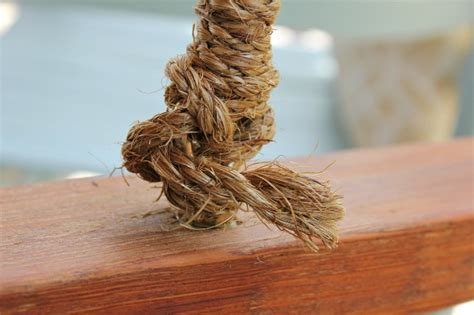 hometalk rope wrapped chain   porch swing