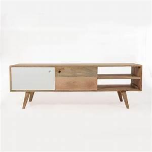 Meuble En Pin Massif Scandinave : meuble tv en bois massif clair home pinterest meuble tv meuble tv scandinave et meuble ~ Melissatoandfro.com Idées de Décoration