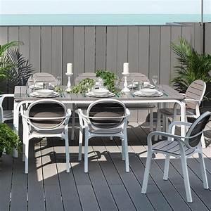 tavolo da giardino allungabile alloro 210 280 nardi With nardi arredo giardino