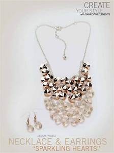 Free Swarovski Necklace And Earring Design And Instructions