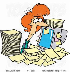 Frazzled Office Worker Clipart (12+)