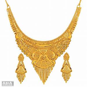 Gold Necklace Set | Gold Jewellery | Pinterest | Gold ...