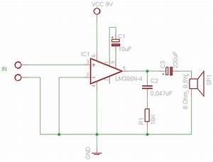 Draw Your Wiring   Wireless Microphone With Loudspeakers Circuit Design