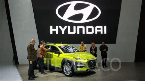 Modifikasi Hyundai Kona 2019 by Hyundai Kona Meluncur Di Iims 2019 Harga Rp 363 9 Juta