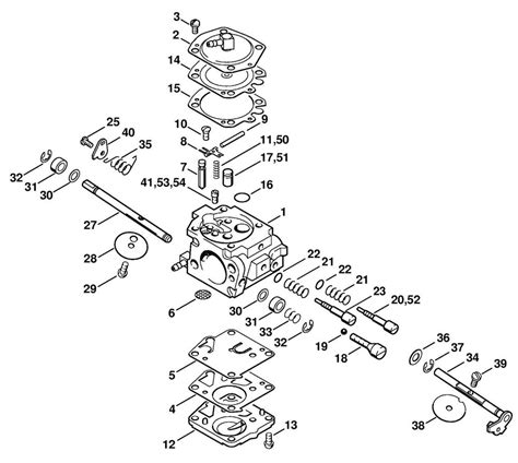 stihl   chainsaw carburetor walbro wa carb