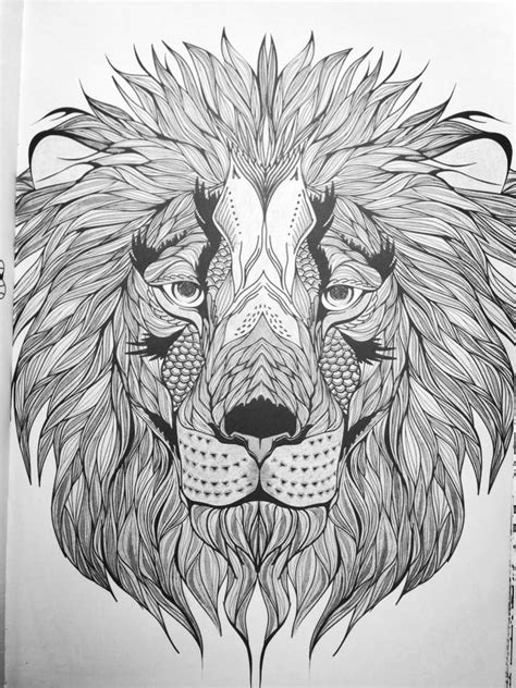 lion coloring page for adults - Google Search | Lion coloring pages, Cool coloring pages, Animal